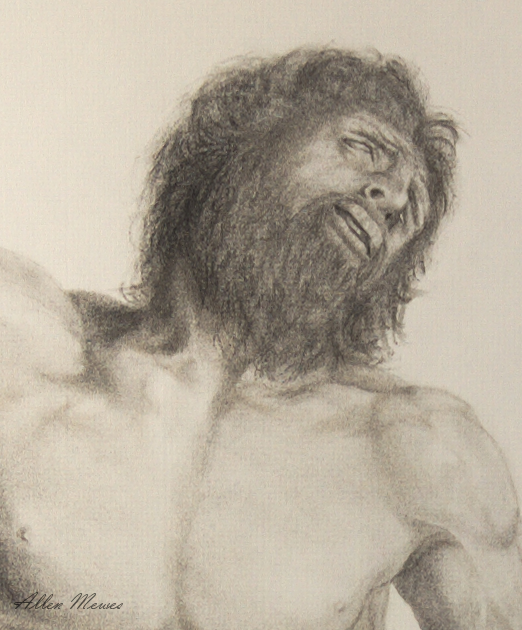 Detail of Laocoon's Regret